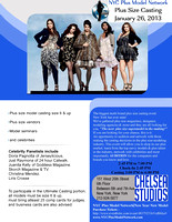 NYC Plus Model Network Plus Size Casting Photos - 1/26/13