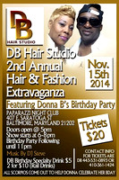 DB Hair Studio 2nd Annual Hair & Fashion Extravaganza for Posting