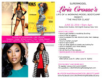 Life of a Working Model - Liris Crosse June 22, 2014
